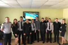Podinsp.-Rafał-Węgiel-w-trakcie-szkolenia-z-zakresu-taktyki-prowadzenia-przesłuchań-dla-Policjantów-z-Regionu-Kirowograd